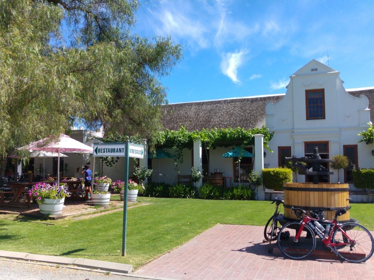 Elternzeit-Reise nach Südafrika - Weingut in Ashton bei Montagu