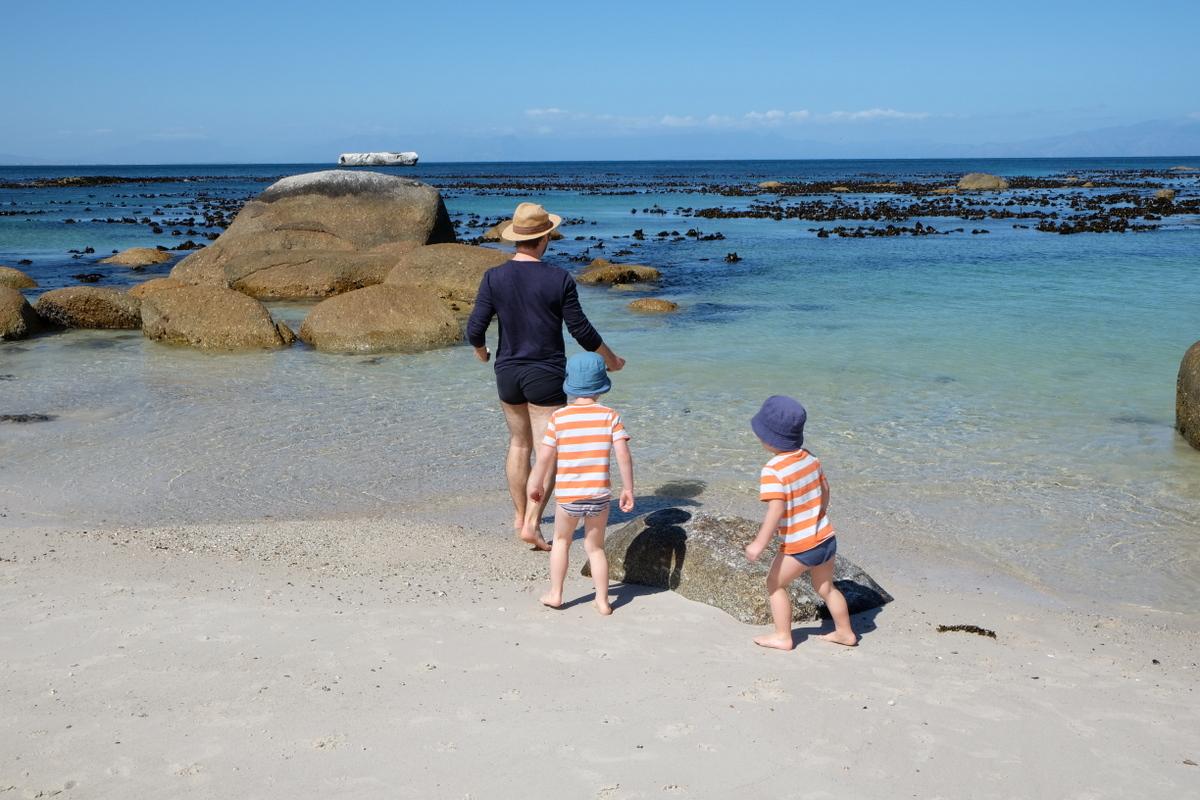 Reise nach Südafrika mit Kindern - warm genug für Strand soll es sein!