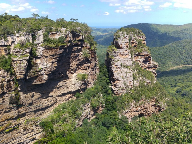 Suedafrika-Oribi-Gorge-Pavianfelsen