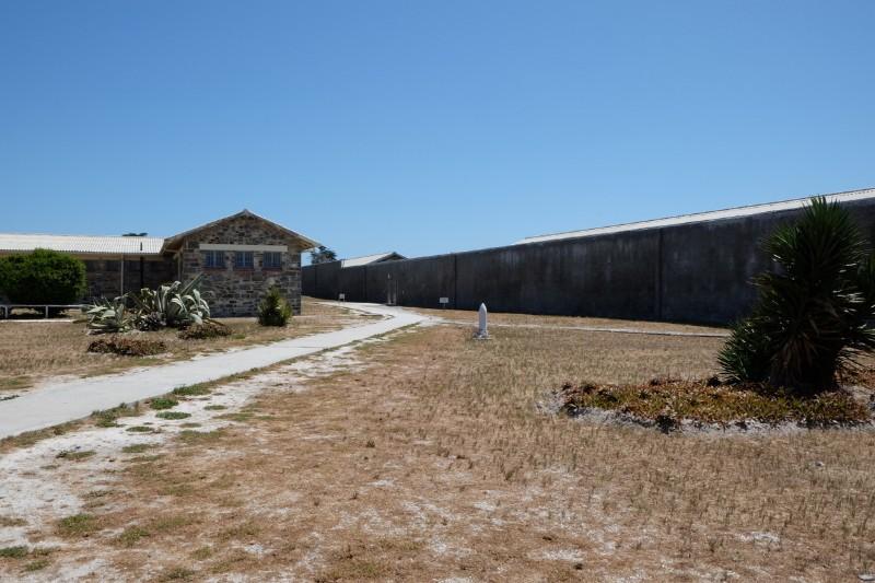 Suedafrika-Kapstadt-Robben-Island-Gefaengnis-Bereich