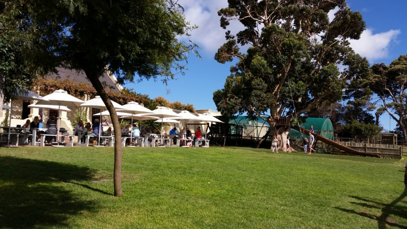 Suedafrika-Kapstadt-Imhoff-Farm-Blue-Water-Cafe