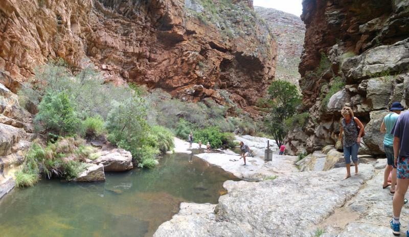 Suedafrika-Meiringspoort-Wasserfall