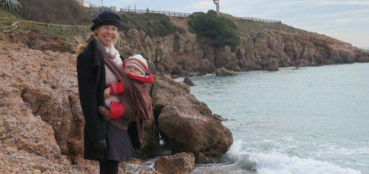 Elternzeit Reisen mit Baby - an der Küste Frankreichs