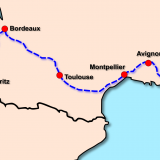 Unsere Elternzeit-Reiseroute durch Frankreich